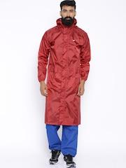 Wildcraft Red Rain Jacket