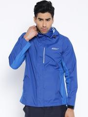 Wildcraft Blue Hooded Rain Jacket