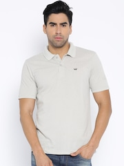Wildcraft Grey Polo T-shirt
