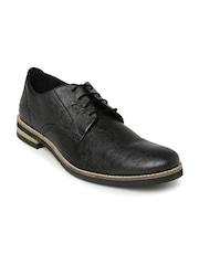 Core Men Black Derby Shoes