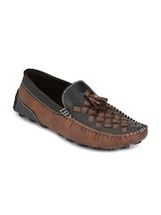Prolific Men Black & Brown Loafers