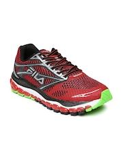 FILA Men Red & Black Kasi Running Shoes