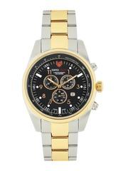 Swiss Eagle Men Black Dial Chronograph Watch SE-9069-22