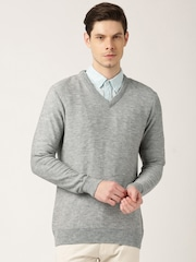 ETHER Grey Melange Sweater