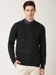 ETHER Charcoal Grey Sweater
