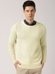 ETHER Cream-Coloured Sweater