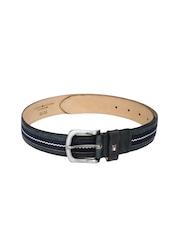Tommy Hilfiger Men Navy Genuine Leather Belt