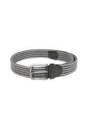 Tommy Hilfiger Men Grey Braided Belt