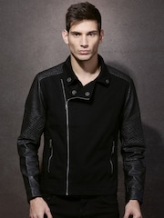 RDSTR Black Biker Jacket
