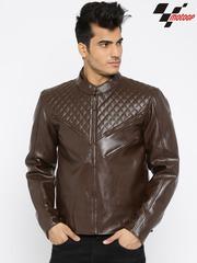 RDSTR Brown MotoGP Biker Jacket