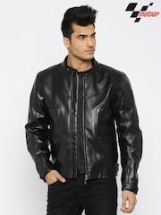 RDSTR Black MotoGP Biker Jacket