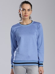 HRX by Hrithik Roshan Grey Melange Sweatshirt