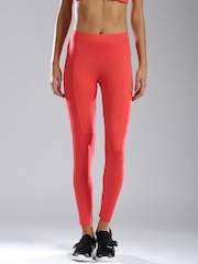 HRX by Hrithik Roshan Active Coral Pink Training Tights