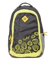 Skybags Unisex Grey Footloose Leo 02 Printed Backpack
