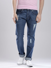 French Connection Blue Washed Skinny Jeans