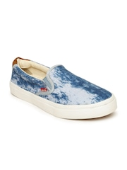 Levis Men Blue Printed Loafers