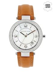 Michael Kors Women Pearly White Dial Watch MK2542