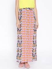 AND by Anita Dongre Multicoloured Printed Maxi Skirt