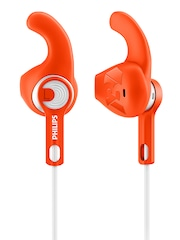 Philips Orange & White ActionFit Sports In-Ear Headphones
