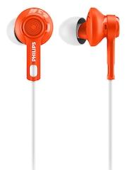 Philips Orange & White ActionFit Sports In-Ear Headphones