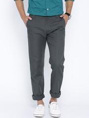 Arrow Sport Grey Casual Trousers