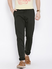 Arrow Sport Grey Chrysler Fit Casual Trousers