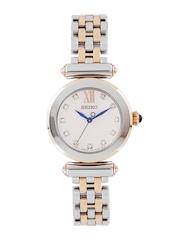 SEIKO Women Silver-Toned Dial Watch SRZ400P1