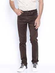 SPYKAR Brown Trousers