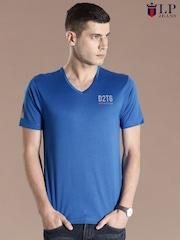 Louis Philippe Jeans Blue T-shirt