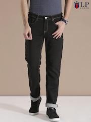 Louis Philippe Jeans Black Albert Skinny Fit Jeans