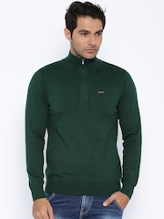 SPYKAR Green Sweater