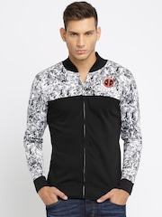 Kook N Keech Marvel Black Printed Sweatshirt