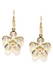 Ayesha Gold-Toned Embellished Drop Earrings