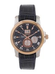 SEIKO Premier Men Navy Kinetic Motion Dial Watch SNP126P1
