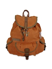 The House of Tara Unisex Brown Backpack