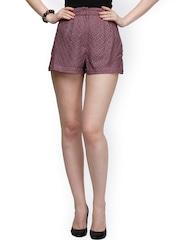 Eavan Lavender Lace Shorts