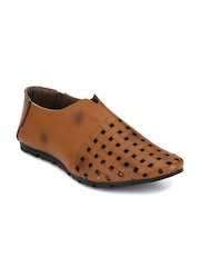 Prolific Men Tan Brown Casual Shoes
