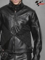 RDSTR Black MotoGP Pro Biker Jacket