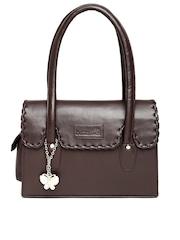Butterflies Coffee Brown Handbag