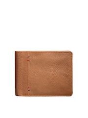 TKWD Leathers Men Tan Brown Leather Wallet