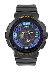 Casio Baby-G Women Charcoal Grey Analogue & Digital Watch BX057