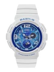 Casio Baby-G Women White Analogue & Digital Watch BX058