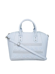 New Look Blue Cut-Out Handbag with Sling Strap