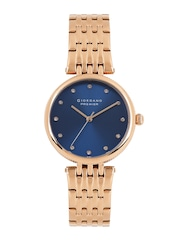 GIORDANO Premier Women Blue Dial Watch P2051-44