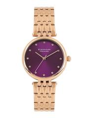 GIORDANO Premier Women Purple Dial Watch P2051-55