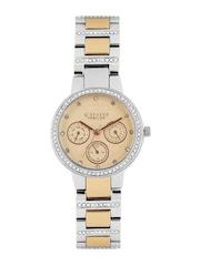 GIORDANO Premier Women Peach-Coloured Dial Watch P2053-66