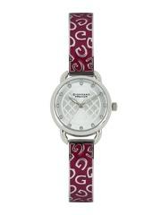 GIORDANO Premier Women Silver-Toned Dial Watch P2050-22