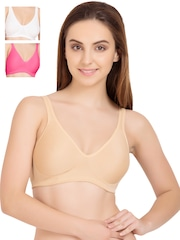 Tweens Pack of 3 Medium-Coverage T-shirt Bras TW261