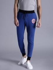 Kook N Keech Marvel Blue Printed Track Pants