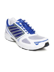 Power Men White & Blue Sports Shoes